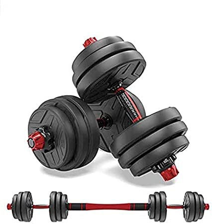 Weight Adjustable Dumbbells Pair Strength Fitness Home Workouts Gym Set 5-5.2lbs