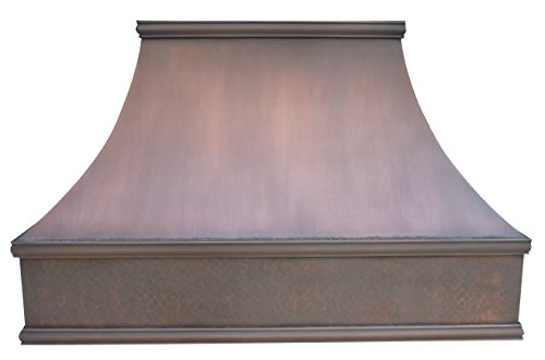 (Copper Range Hood Tuscan Design Stainless Steel 304 Vent Included Sinda H7SL)