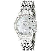 Deals on Citizen Eco-Drive Womens EW2280-58D 29mm Watch