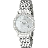 Citizen Eco-Drive EW2280-58D Mother of Pearl Dial Diamonds Women's Watch
