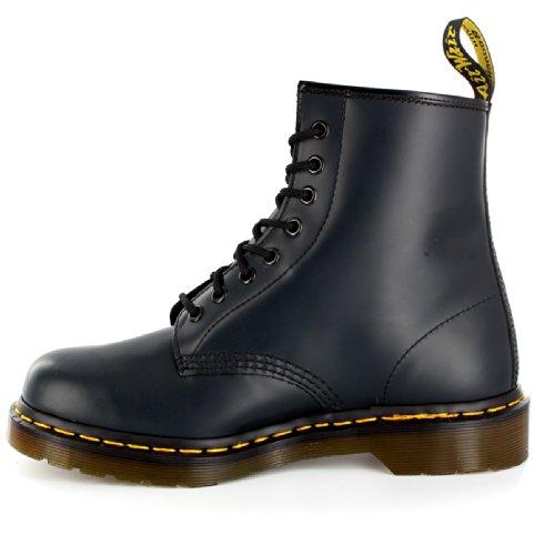 Mens Dr. Martens 1460z 8 Ögla Mjuk Läder Oxfords Bekämpa Armén Boot Flottan