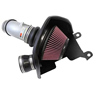 K&N Performance Cold Air Intake Kit 69-1019TS with Lifetime Filter for 2012-2016 Honda Civic Si, Acura ILX 2.4L