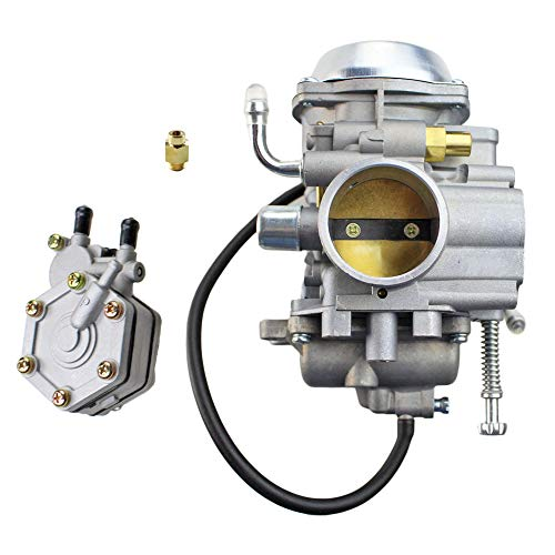 (NICHE Carburetor and Fuel Pump Assembly for Polaris Trail Boss 325 2000-2002)