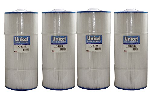 Unicel C-8326-4 Pool Filter (4 Pack) by Unicel