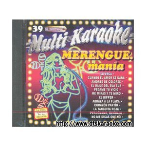 Merengue Mania Multi Karaoke 39