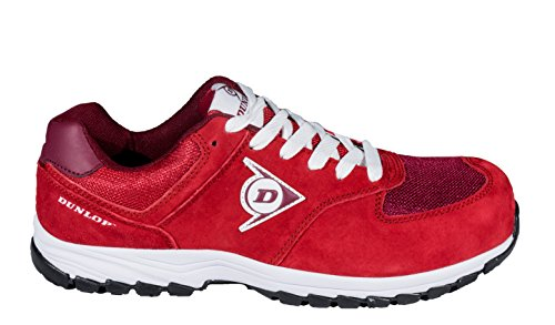Dunlop Flying Arrow – Scarpe, 46, colore: rosso
