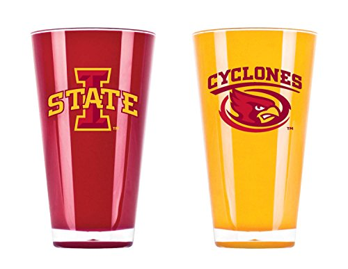 Duck House NCAA Iowa State Cyclones 20oz Insulated Acrylic Tumbler Set of 2