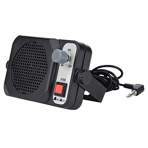 Portable Mini Walkie Talkie Car Mobile CB Radio External Speaker for YAESU for Motorola for Series Two Way Radio
