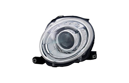 Depo 361-1101L-AS Headlight Assembly (FIAT 500 HATCH BACK/500C CONVERTIBLE. 12-14 ASSEMBLY DRIVER SIDE)