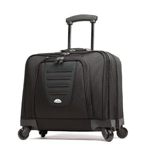 Samsonite 10392 Spinner Mobile Office Wheeled Briefcase, Black by Samsonite