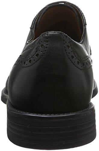 Vagabond Salvatore, Zapatos de Cordones Derby para Hombre Negro - Schwarz (20 Black)