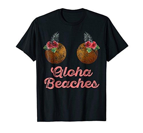 Coconuts On The Beach Halloween (Coconut Bra Flower Boobs | Hawaii Aloha Beaches Funny)
