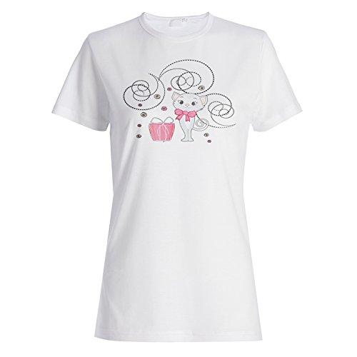 Katzen Geschenk Katzen Geschenke Lustige Neuheit Damen T-shirt c635f