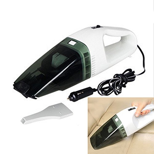YYGIFT® Portable Wet Dry DC12V Vacuum Cleaner for Car Handl
