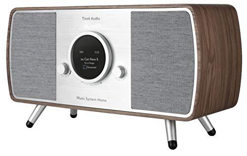 Tivoli Audio Music System Home Gen. 2 DAB+/UKW-Radio Bluetooth WiFi wallnuß/grey