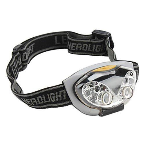 1pcs Headlamp Ultra Bright 3-Mode Waterproof 6 LED Bike Bicycle Hiking (Wfl Art)