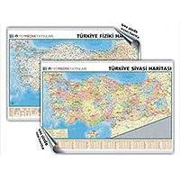Türkiye Mülki İdare Bölümleri Fiziki Haritası