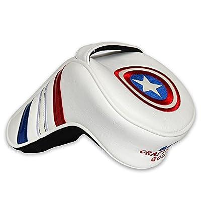 Craftsman Golf America Shield Golf Driver Large Headcover Head Cover For Taylormade Callaway Big Bertha Alpha Callaway X HOT Ping Driver