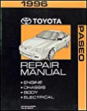1996 Toyota Paseo Repair Shop Manual
