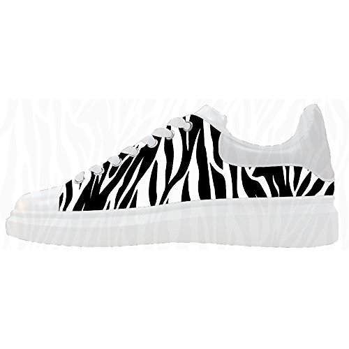 Canvas Scarpe Custom Di Scarpe Zebra Le Shoes Stampa Women's 0aIU1Baq