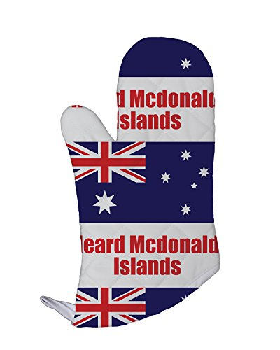Heard Mcdonald Islands Country Flag Kitchen Bar Oven Mitt