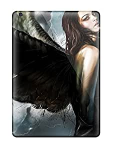 Hot Fashion CGctSvB4512iuRYZ Design Case Cover For Ipad Air Protective Case (moody Angel)