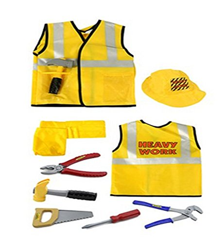 [Construction Worker - Role Play Costume Set] (Girl Construction Worker Costumes)