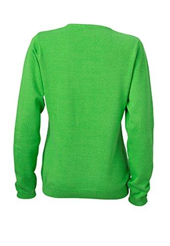 amp; verde avec Crdigan de C Periodic jn660 Col Pico NICHOLSON verde Femme JAMES gdCwaqq