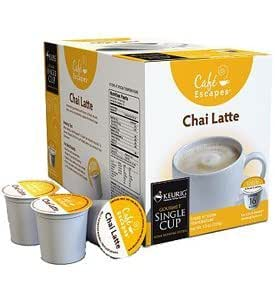 how to make a chai latte in coffee machine