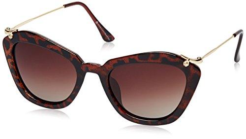 Daniel Klein Cateye Sunglasses (Brown) (DK4030-Col2|55)
