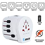 Best earthed universal travel adaptor