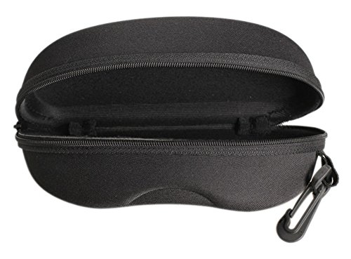 - Chariot - Zipper Eye Glasses Sunglasses Hard Case Cover Bag