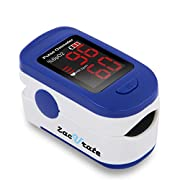 The Zacurate Fingertip Pulse Oximeter is manufactured according to the CE and FDA standards set for pulse oximeters used by doctors and other health professionals. Designed for pilots or any sport enthusiasts who want to obtain their SpO2 (Blood Oxy...