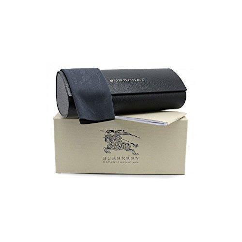 Astuccio occhiali sole vista Burberry custodia semirigido nero black box panno