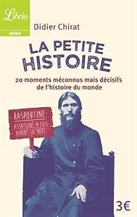 La Petite Histoire par Didier Chirat