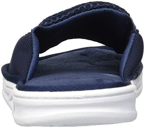 Navy with Slide Blazer Men's Slipper Mixed Dearfoams Mesh Gore 6IqzHZq0w