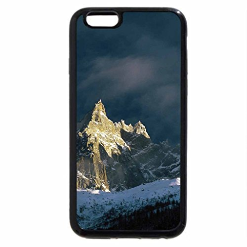 iPhone 6S / iPhone 6 Case (Black) Mountains Majesty