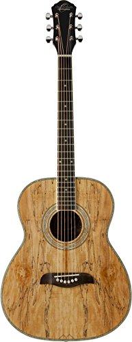 (Oscar Schmidt OF2SM-R-U 6-String Acoustic Guitar - Spalted)