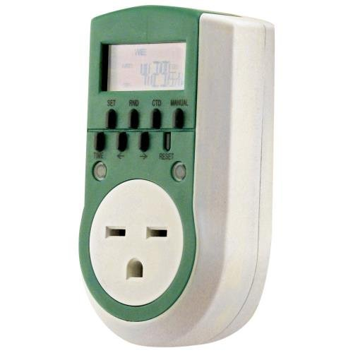 Titan Controls Digital Timer, Single Outlet, 240V - Apollo 11 ()