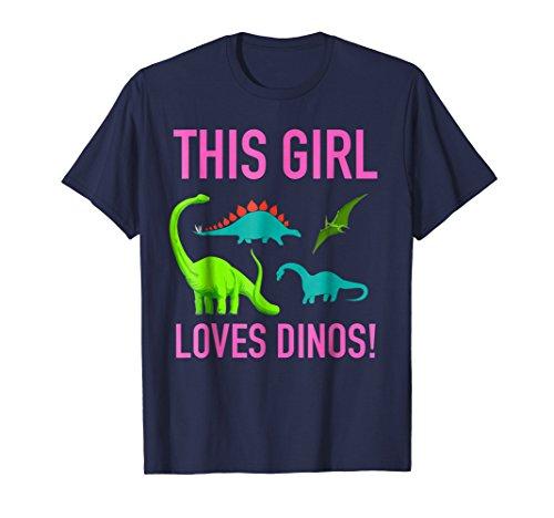 Dinosaur T-Shirt Girls Toddler Women Toys Party Supplies