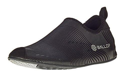 Ballop Unisex Wave Light Up Water Shoes, Black, L