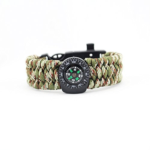 9inch Core Survival Paracord Bracelet