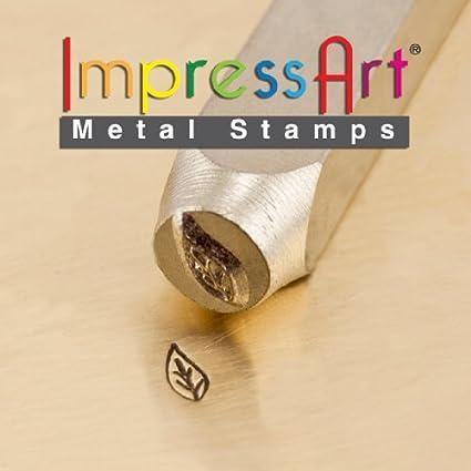 6 mm ImpressArt SCDESIGN-156N Leaf Right Design Stamps