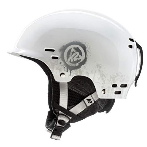 (K2 Thrive Ski Helmet, Small, White)