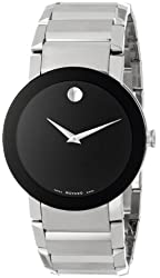 Movado Men's 606092 Sapphire Stainless Steel Bracelet Watch