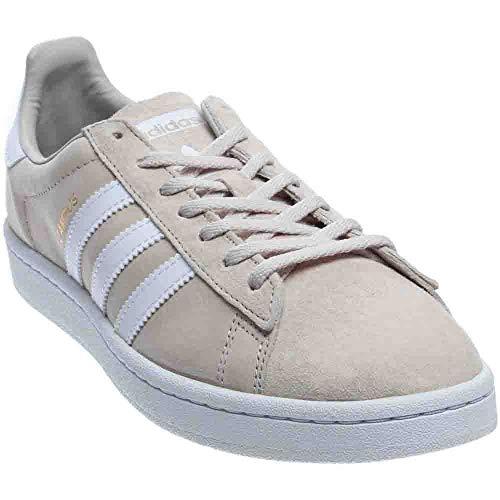 new concept 7b315 4a44c adidas Originals Womens Campus W Sneaker, Clear Brown Crystal White, ((9  Medium