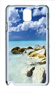Samsung Galaxy Note 3 N9000 Cases & Covers -Long Island Bahamas Custom PC Hard Case Cover for Samsung Galaxy Note 3 N9000¨C White