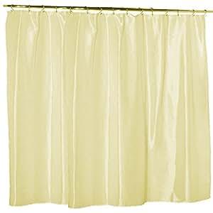 Waterproof Nylon Soft As Silk Mildew Resistant Fabric Shower Curtain Liner 108