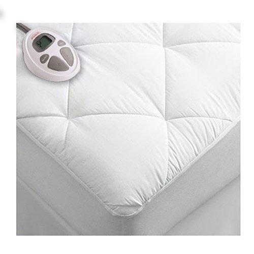 Sunbeam Premium Luxury Quilted Electric Heated Mattress Pad