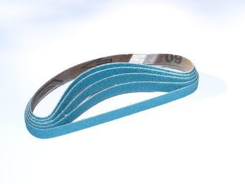 80grit Highest Quality STARCKE to fit all 10x330mm Belt Sander Qty 5 10 x 330mm Sanding Belts Zirconia